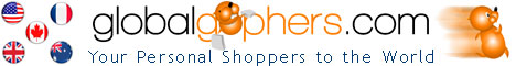 Shop the World with Global Gophers -  buy anything and have it shipped to you anywhere